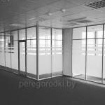 стеклянные перегородки в Минске