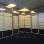 перегородки из стекла офисные, Минск