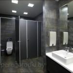 сантехническая кабина в туалет